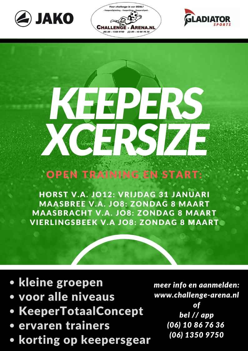 keepers xcersize